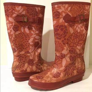 LL Bean Wellies Women's Size 11 Medium Rain Boots